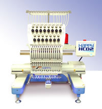 Happy HCD Embroidery Machine