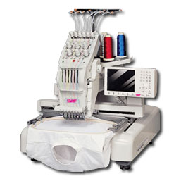 SWF MA-6 compact commercial embroidery machine